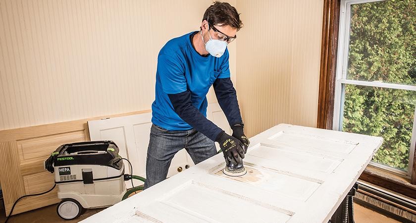 Painting How To Paint An Exterior Door Norton Abrasives