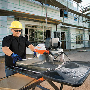 Best Practices - Construction - Tile Saw