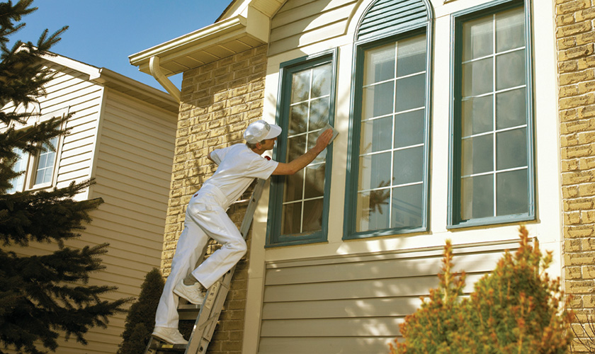 Painting how to prepare a house for exterior painting norton abrasives - Painting preparation exterior photos ...