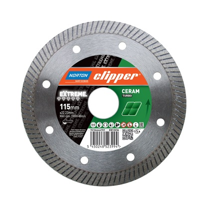 ceramic diamond blade from norton clipper