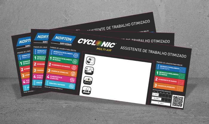 Norton Cyclonic stickers