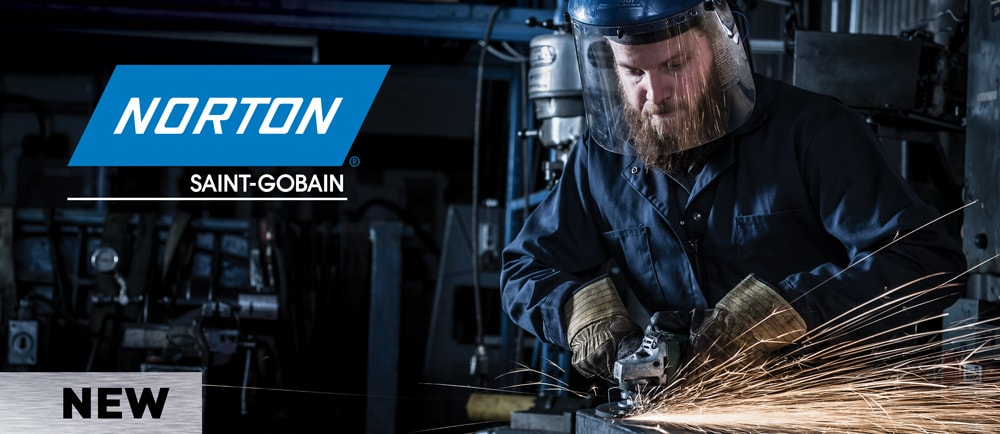 Norton performance solutions for right angle grinders