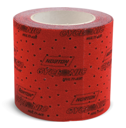 Norton Cyclonic pre-cut roll