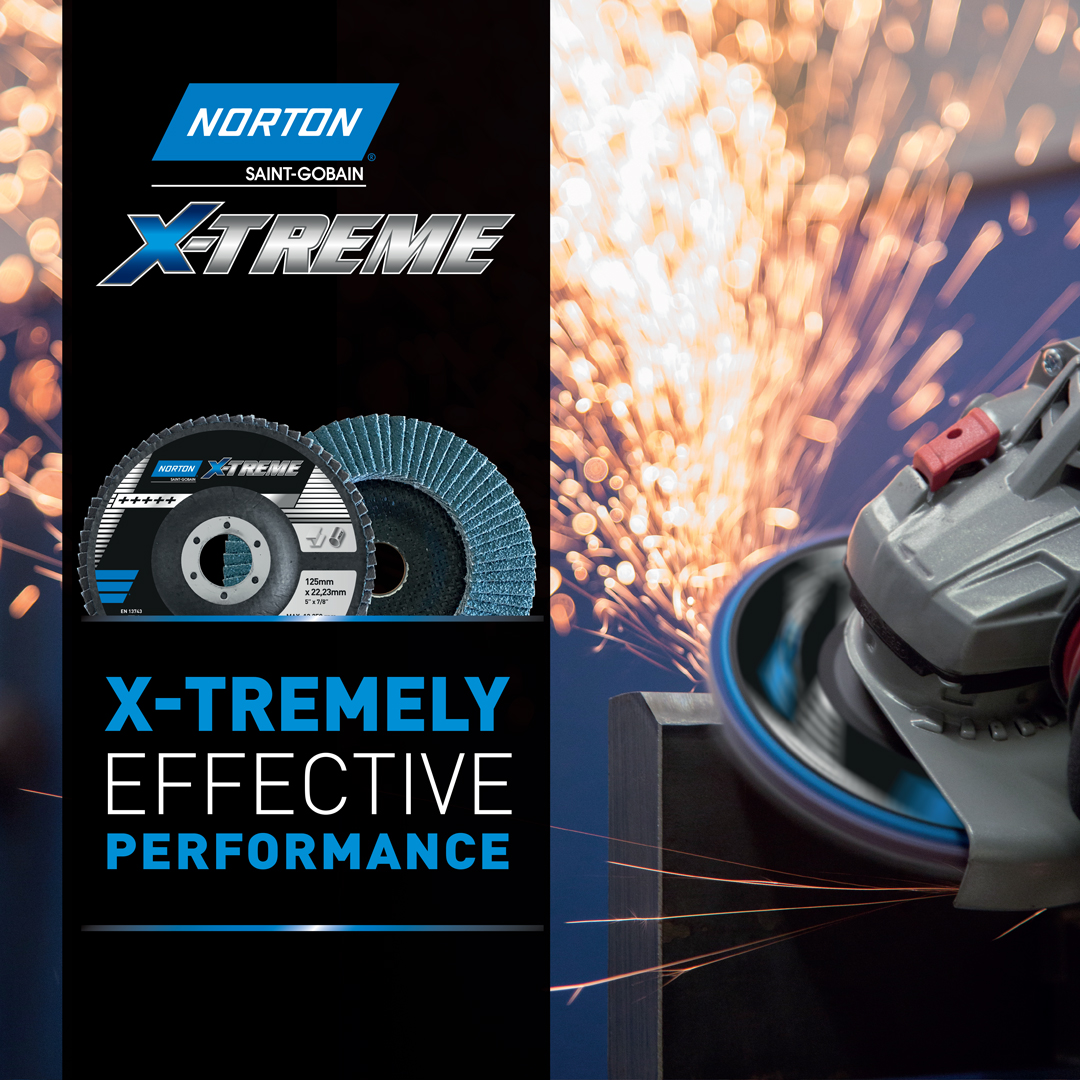 X-Treme R860 Flap Discs from Norton