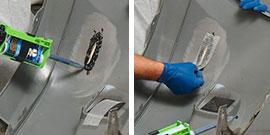 Best Practices Plastic Repair Step 6