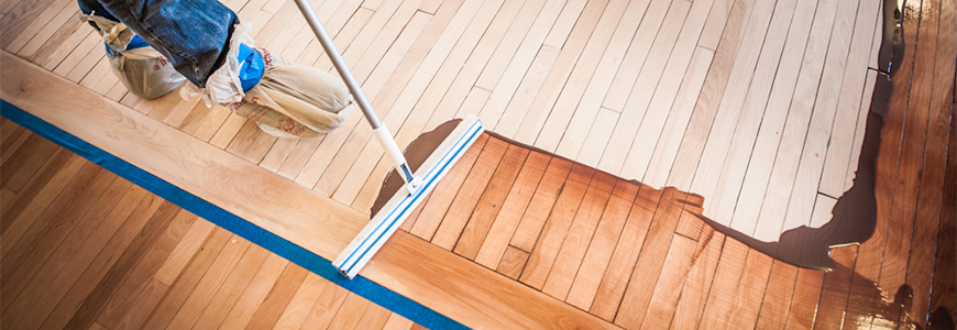 Water-based hardwood floor finishes are a popular choice among flooring  professionals as they dry quickly and don't have the odor or chemicals of  oil-based ... - How To Apply Water-Based Wood Floor Finishes Norton Abrasives