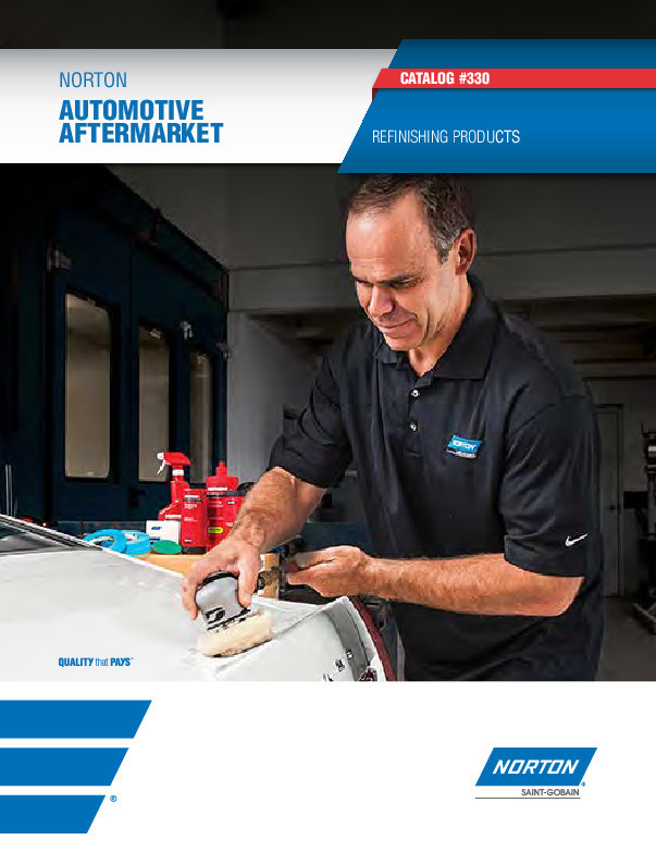 Norton Automotive Aftermarket Refinishing Products Catalog - 330