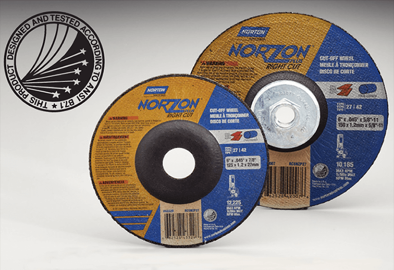 Grinding Wheel Safety Seal Norton Abrasives