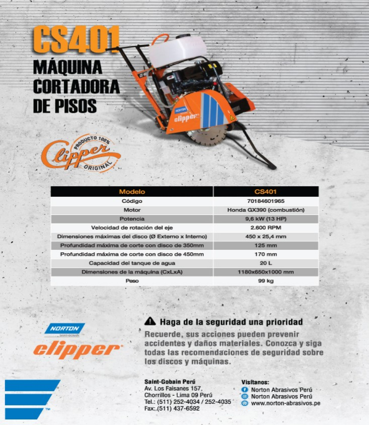 maquina cortadora clipper cs401