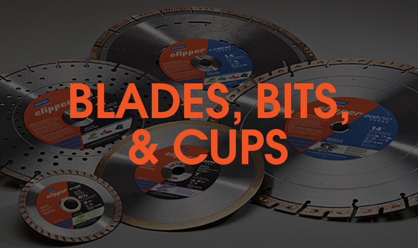Norton Clipper Diamond Blades, Core Bits & Cups