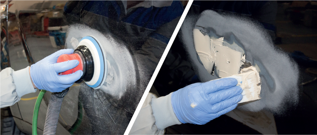 Sanding Steps To Prepare A Car For Paint Norton Abrasives