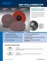 Merit A/O Cloth Quick-Change Discs Flyer - M118