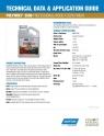 Norton | Vermont Natural Coating PolyWhey 3500 Tech Sheet - 8545Tech