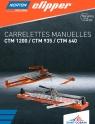 Brochure présentant les toutes nouvelles carrelettes manuelles Clipper