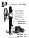 Norton Clipper Core Drill DR300 Parts List