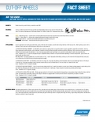 Norton Cut-off Wheels Fact Sheet - 8516