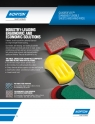 Norton Quadroflex Flexible Sheets/Hand Pads Flyer - 8104