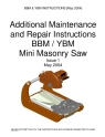 Norton Clipper Masonry Saw BBM Series Motor Replacement Instructions