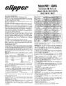 Norton Clipper Masonry Saw BH Series Parts List - Rev. 2007