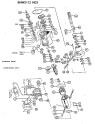 Norton Clipper Masonry Saw BHW2113-HD3 Parts List