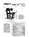 Norton Clipper Masonry Saw BP Series Parts List - Rev. 2006