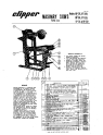 Norton Clipper Masonry Saw BP Series Parts List - Rev.2007