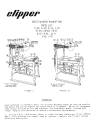 Norton Clipper Masonry Saw C47, E47, E49, E41, H41, and J41 Parts List