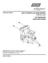 Norton Clipper Flat Saw C35 Series Parts List 168497-PL - Rev. 2013