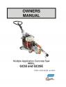 Norton Clipper Flat Saw GC55/GC25E Owners Manual & Parts List - 2010