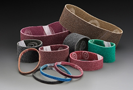 Norton Bear-Tex Non-Woven Surface Finishing Belts