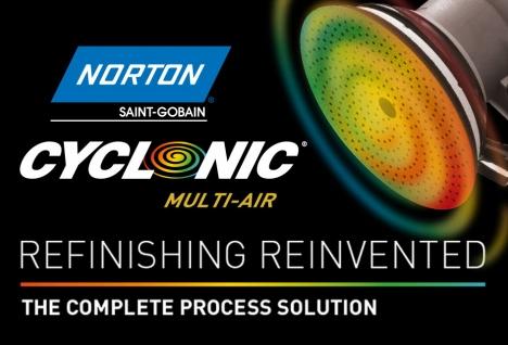 Norton Cyclonic automotive finishing
