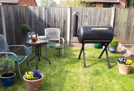big barbecue build