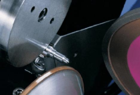 Pinch grinding set-up