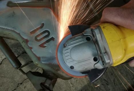 amoladora angular norton