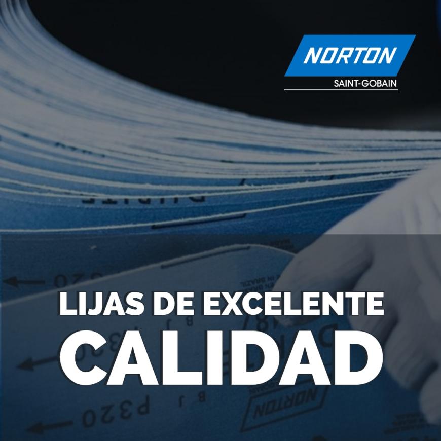 La lija debe ser seleccionada en función del material a ser lijado, del equipo utilizado, de la resistencia del respaldo por operación.
