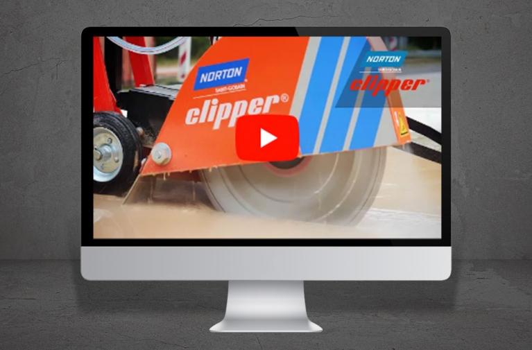 Video sega da pavimento Norton Clipper CS451