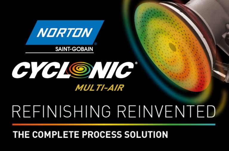 Sistema de lijado completo: Norton Cyclonic