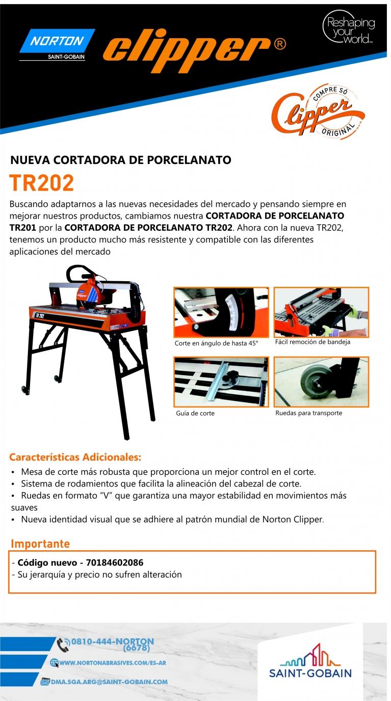 Lanzamiento TR202  -