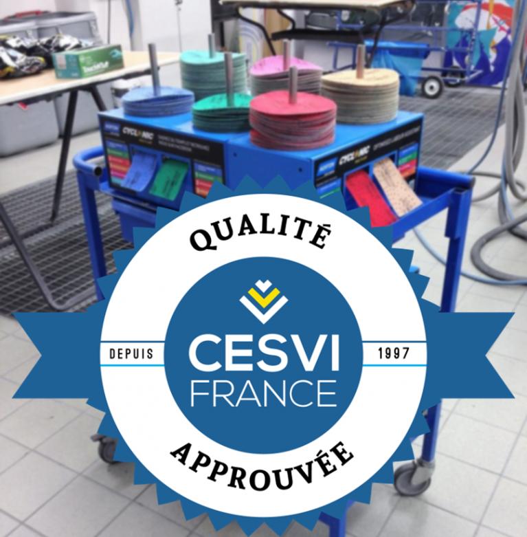 La solution Norton Cyclonic obtient le visa Qualité CESVI Approuvé !