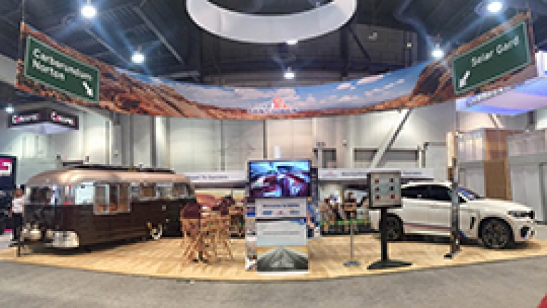 SEMA 2016 Show - Saint-Gobain and Flyte Camp