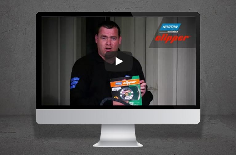 Norton Clipper TR202 video demo