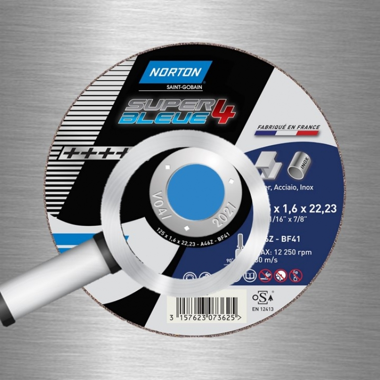 Disque SB4 Norton avec zoom sur date de validité
