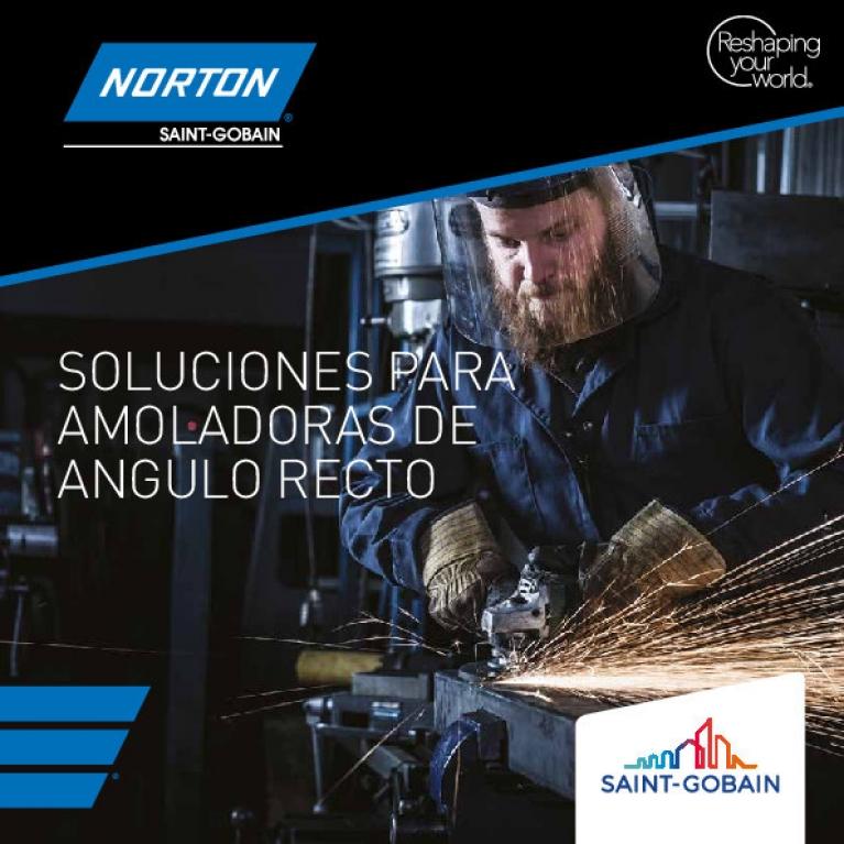 Guía para amoladoras de angulo recto Norton