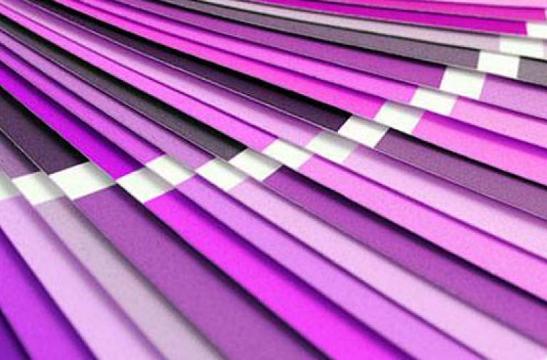 Le violet couleur de l'année 2018