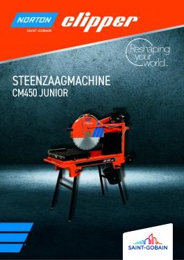 Norton Clipper CM450 Junior  - steenzaagmachine