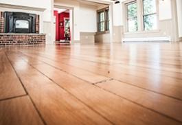 An example of a hardwood floor.