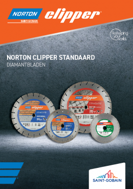 Norton Clipper-Standaard Diamantbladen-Flyer-front-NL
