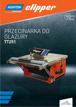 ULOTKA PRZECINARKA DO GLAZURY TT 251