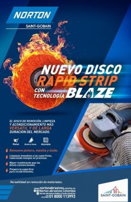 Nuevo disco Rapid Strip Blaze