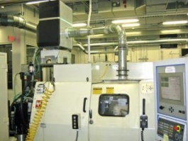 Individual Mist Eliminator installed on machine